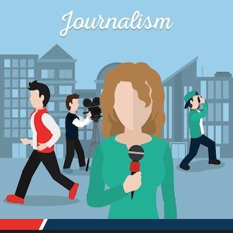 Journalisme et journaliste