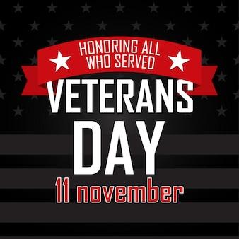 Journée des anciens combattants. honorer tous ceux qui ont servi.