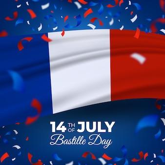 Journée bastille réaliste