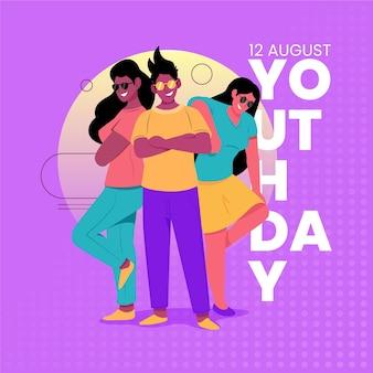 Journée colorée des jeunes