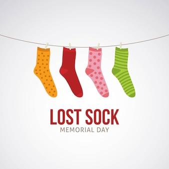 Journée commémorative lost sock