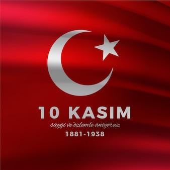 Journée commémorative réaliste à atatürk