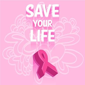 Journée contre la conception d'arrière-plan du cancer