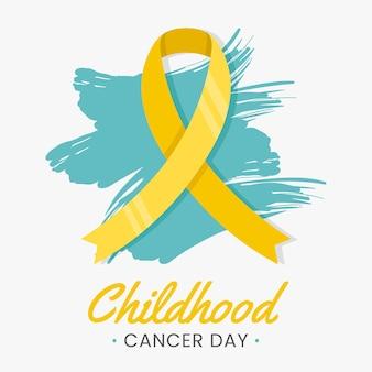Journée du cancer de l'enfance à plat