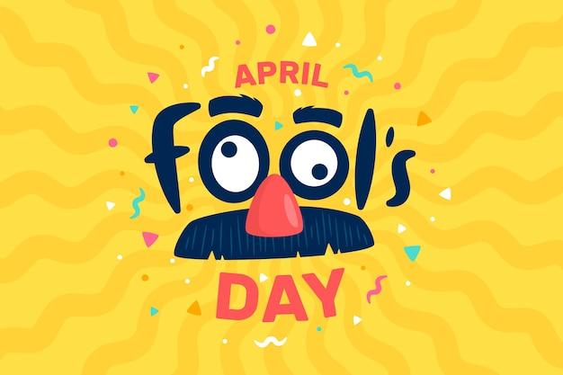 Journée du poisson d'avril plat
