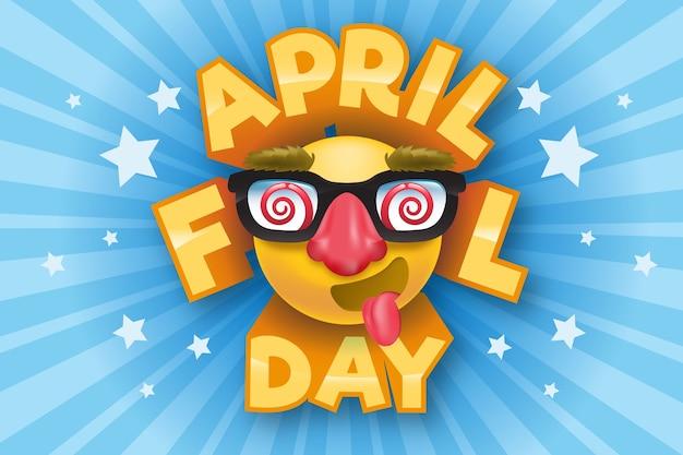 Journée du poisson d'avril réaliste