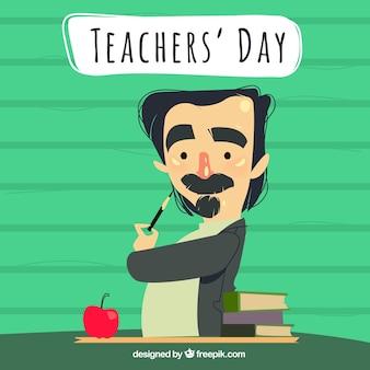 Journée de l'enseignant, professeur bohème