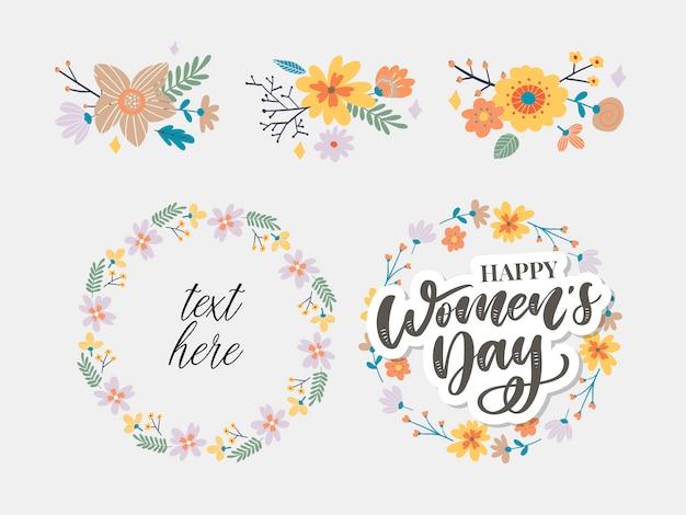 Journée de la femme heureuse