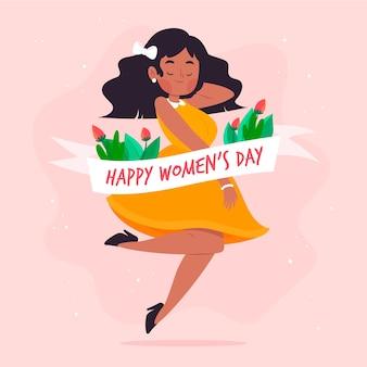 Journée des femmes dessinées à la main