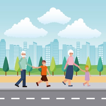 Journée des grands-parents heureux
