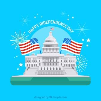 Journée de l'indépendance américaine à wasington