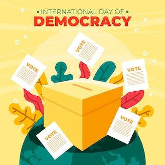 Journée internationale de la démocratie avec vote