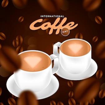 Journée internationale du café réaliste