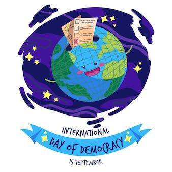 Journée internationale du concept de démocratie