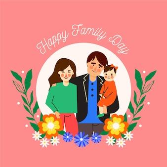 Journée internationale du design plat des familles