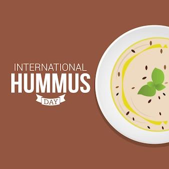 Journée internationale du houmous