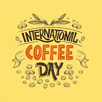 Journée internationale du lettrage café