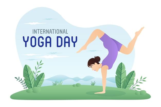 Journée internationale du yoga 21 juin célébrations de la journée mondiale du yoga