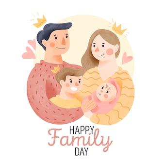 Journée internationale des familles avec parents et enfants