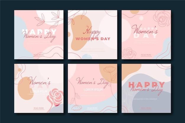 Journée internationale de la femme instagram posts