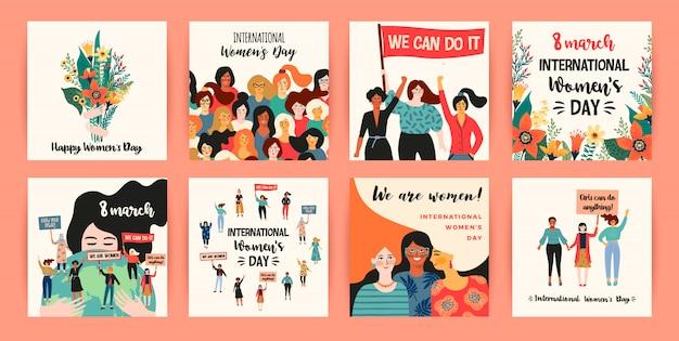 Journée internationale de la femme.