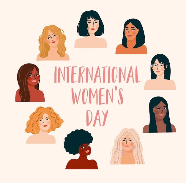 Journée internationale des femmes.