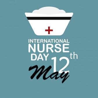 Journée Internationale Des Infirmières. Vecteur Premium