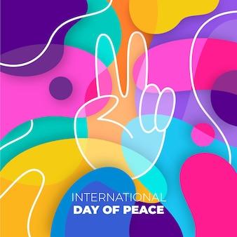 Journée internationale de la paix colorée