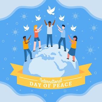 Journée internationale de la paix avec les gens