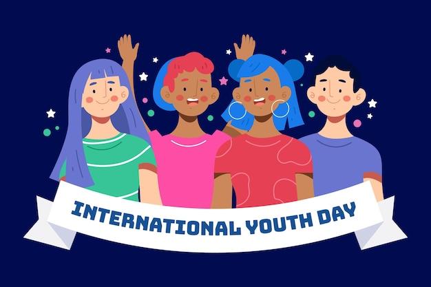 Journée de la jeunesse avec les gens