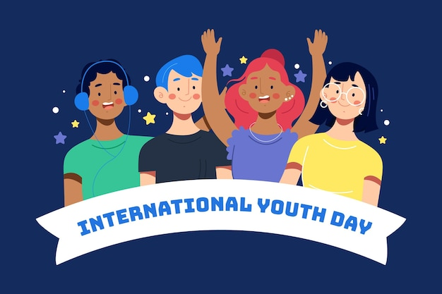Journée jeunesse avec personnes