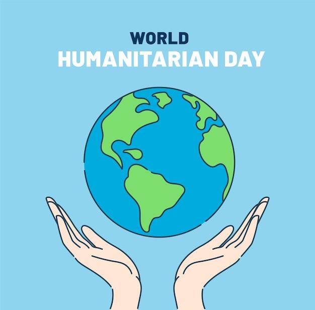Journée mondiale de l'aide humanitaire 19 août.
