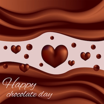 Journée mondiale du chocolat au chocolat