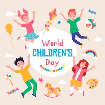 Journée mondiale des enfants