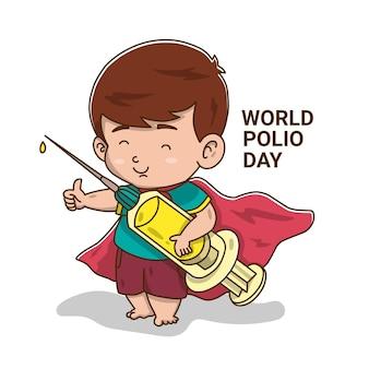 Journée mondiale de la polio