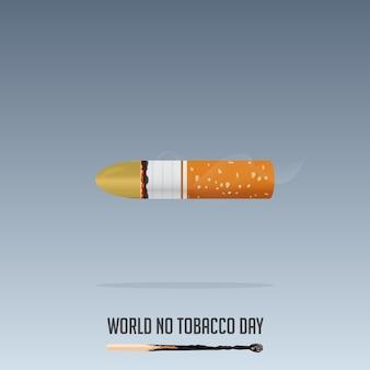 Journée mondiale sans tabac, 31 mai affiche non-fumeur.