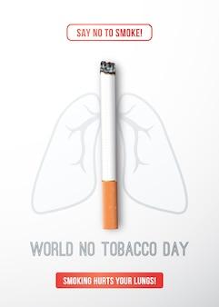 Journée mondiale sans tabac.