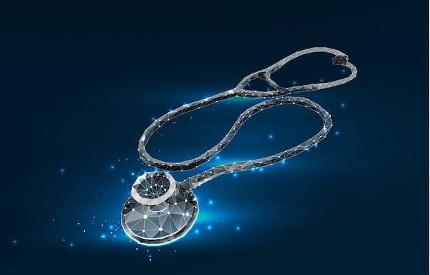 Journée mondiale des soins de santé stéthoscope de médecine