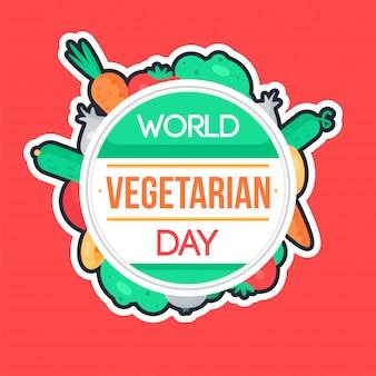 Journée mondiale végétarienne