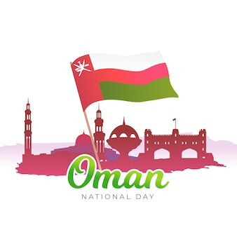 Journée nationale du design plat oman