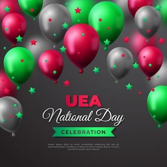 Journée nationale des émirats arabes unis réaliste