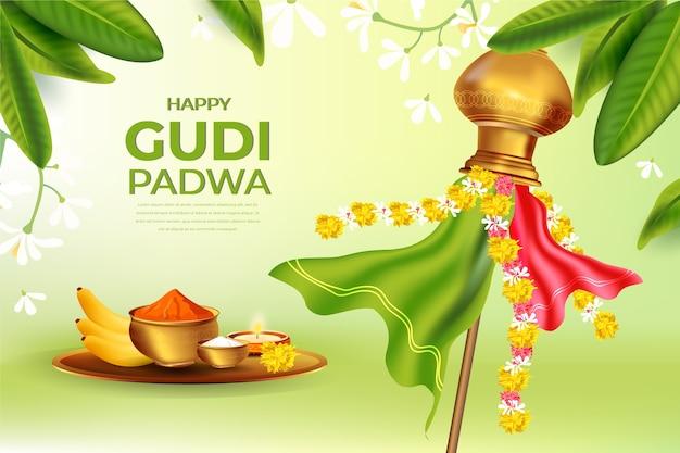Journée réaliste de gudi padwa