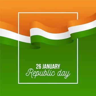 Journée de la république indienne réaliste