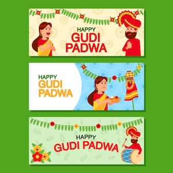 Journée de la sainte religion pour la bannière de l'hindouisme en inde.