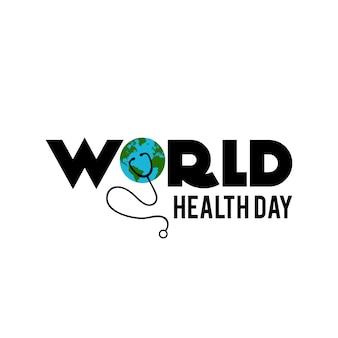Journée de la santé conception de fond