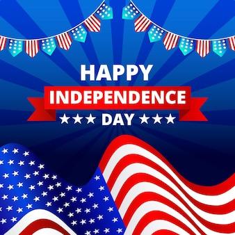Joyeuse fête de l'indépendance usa