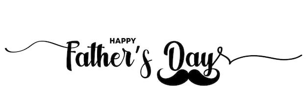 Joyeuse fête des pères. affiche de lettrage avec texte joyeux jour des pères. bannière lumineuse de calligraphie de jour. papa mon illustration de roi. vecteur eps 10