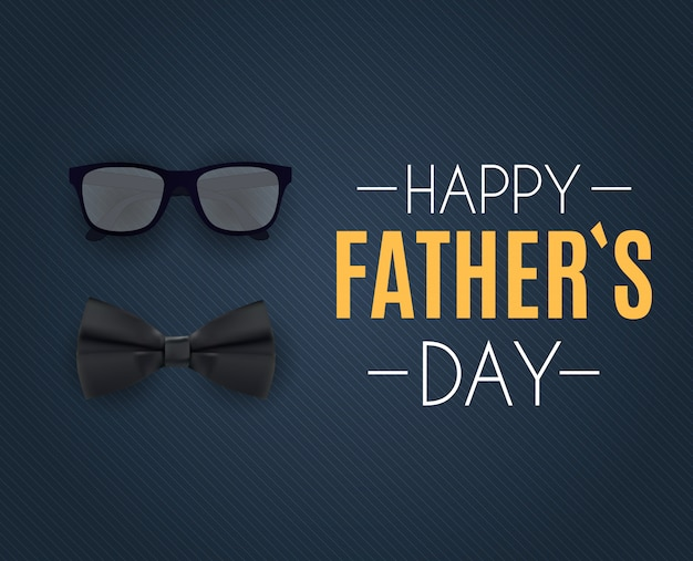 Joyeuse fête des pères. meilleure illustration vectorielle papa