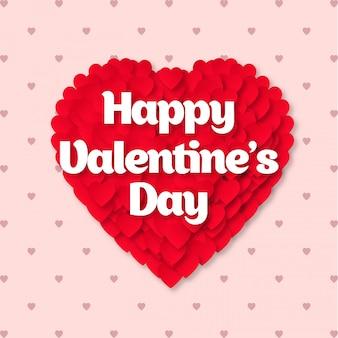 Joyeuse saint valentin coeur
