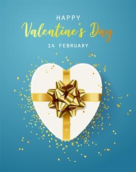Joyeuse saint valentin. flyer, affiche, carte de voeux